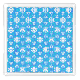Snowflakes From Afar Perfume Tray