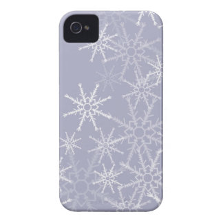 Snowflakes Full iPhone 4 Case