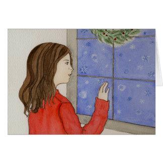 snowflakes greeting card_2 card