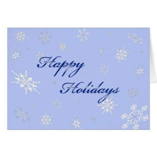 snowflakes in that special time of year card