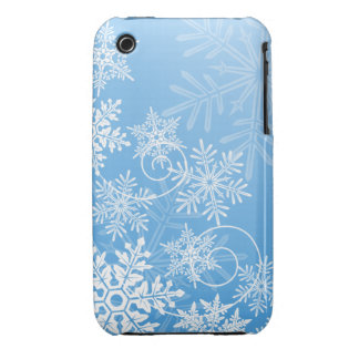 Snowflakes iPhone 3G/3GS Case Case-Mate iPhone 3 Cases