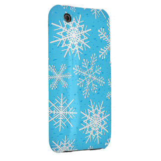 Snowflakes, iPhone 3G cover iPhone 3 Case