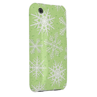 Snowflakes, iPhone 3G cover iPhone 3 Case-Mate Cases