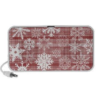Snowflakes iPod Speakers