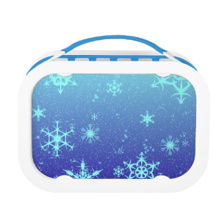 Snowflakes Lunch Box