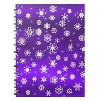 Snowflakes Notebooks