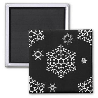 snowflakes_on_black magnet