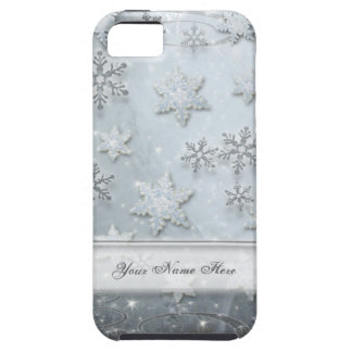 Snowflakes on Ice iPhone 5 Cover