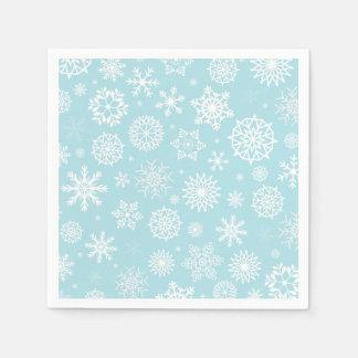 Snowflakes Paper Serviettes