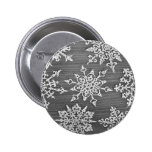Snowflakes Pinback Buttons