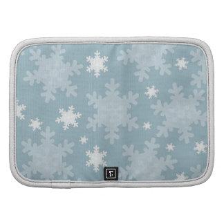 Snowflakes Folio Planner