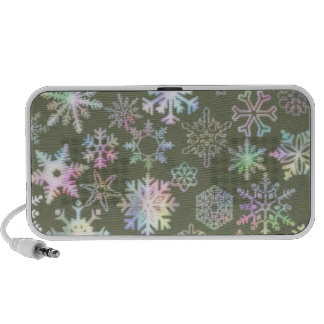 Snowflakes Portable Speakers