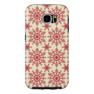 Snowflakes Samsung Galaxy 6 Phone Case