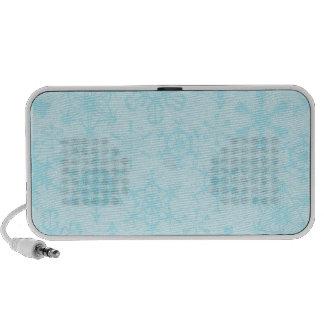 Snowflakes Notebook Speakers