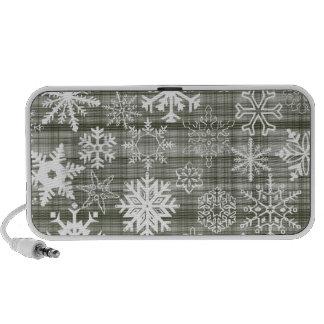 Snowflakes Notebook Speaker