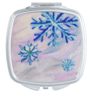 Snowflakes Vanity Mirrors