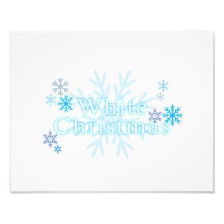 Snowflakes White Christmas Magnet Mouse Pad Mugs Photo Art