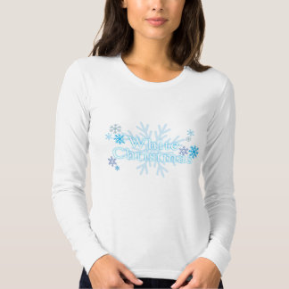 Snowflakes White Christmas Shirt Jacket Hoodies