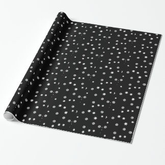 Snowflakes Winter Christmas Wrapping Paper