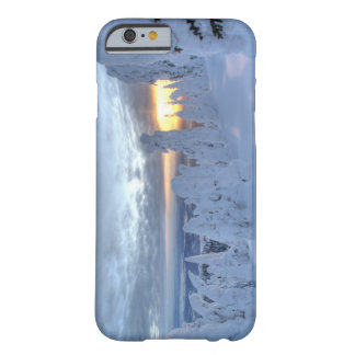 Snowghosts at sunset at Whitefish Mountain Barely There iPhone 6 Case