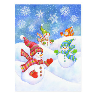 SnowGirls Post Card