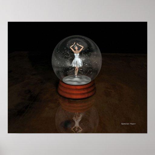 SNOWGLOBE - Ballerina Poster