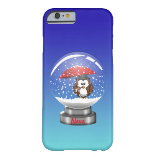 snowglobe owl barely there iPhone 6 case