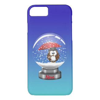 snowglobe owl iPhone 7 case