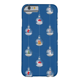 Snowglobes at Dusk Barely There iPhone 6 Case