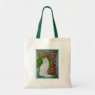 Snowi's Garden Tote Bags