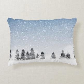 Snowing Decorative Cushion