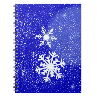 Snowing Notebook