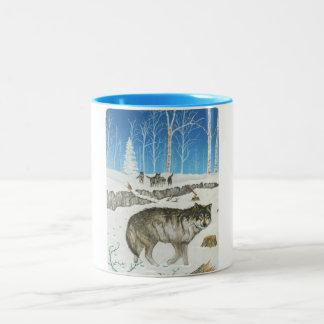 Snowland Lone Wolf Mug