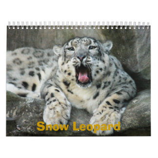 SnowLeopardBCR007, Snow Leopard Calendar