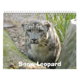 SnowLeopardBCR012, Snow Leopard Wall Calendar