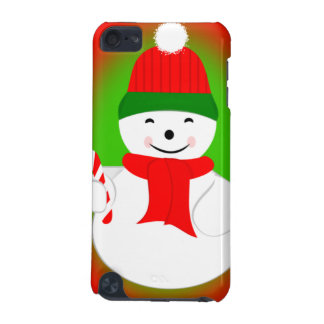 Snowman and Candy Cane iPod Touch (5th Generation) Cover