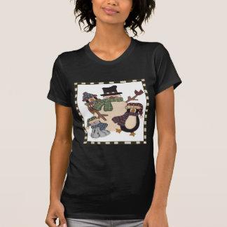 Snowman and Friends T-Shirt
