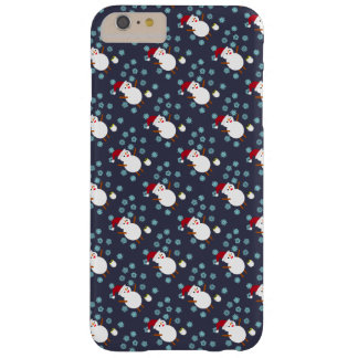 Snowman and Penguin Barely There iPhone 6 Plus Case