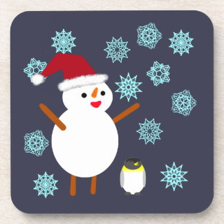Snowman and Penguin Coaster