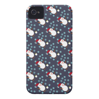 Snowman and Penguin iPhone 4 Case-Mate Cases