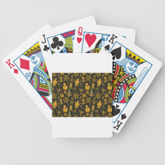 Snowman and Present Pattern Bicycle Playing Cards