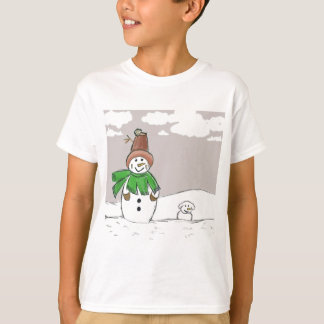 Snowman and Snowdog T-Shirt