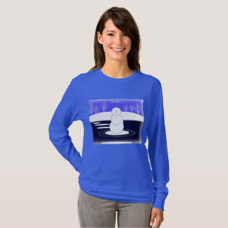 Snowman and Water T-Shirt
