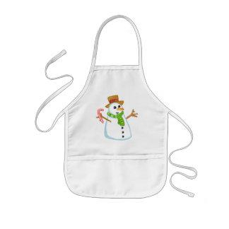 Snowman Kids Apron