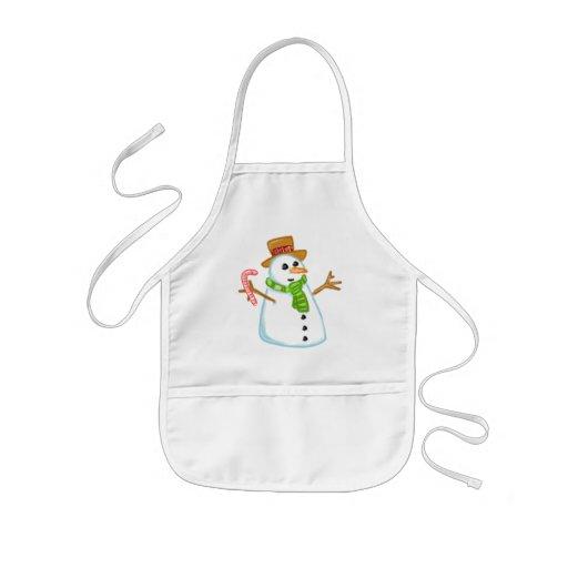 Snowman Aprons