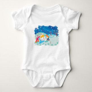 Snowman Baby Bodysuit