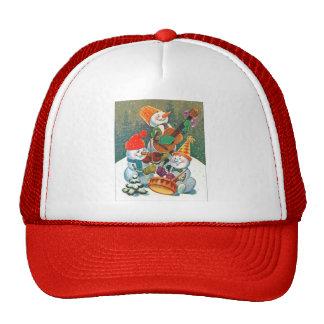 Snowman Band Cap