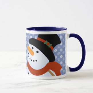 Snowman Blizzard Holiday Mug