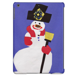 Snowman by VictoriaShaylee Case For iPad Air