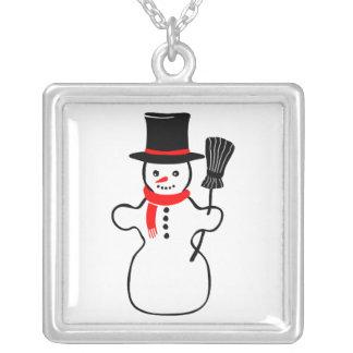 Snowman cartoon pendants